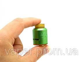 Обслуживаемый атомайзер для дрипа Desire Mad Dog RDA, зеленый, фото 2