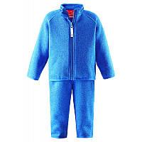 Флисовый костюм для мальчиков Reima 516274-6560. Размеры 80 и 86.
