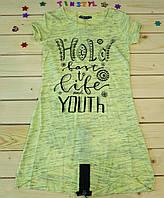 Модное платье-туника для девочки Holy  рост 128-164 , фото 1