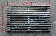 Решетка гриль для мангала (чугунная) (300х500)