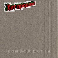 Плитка Грес ступень 0601С гладкий 300х300х7,5 мм