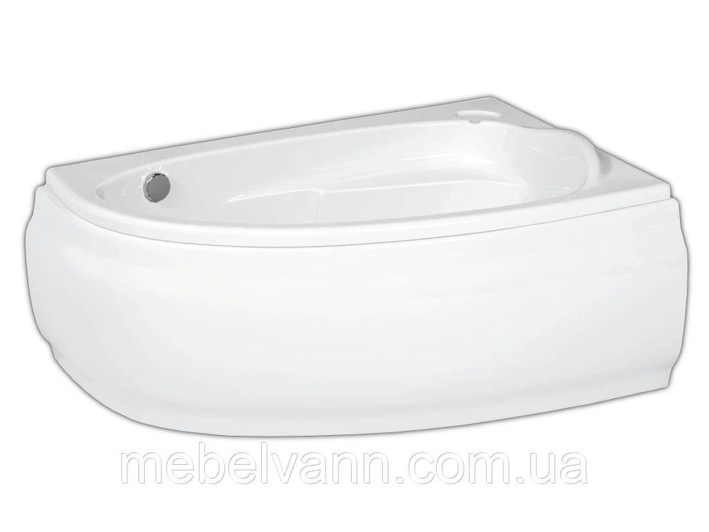 Ванна угловая Cersanit JOANNA 140х90 правая с панелью