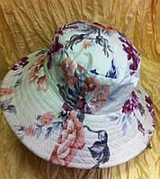 Шляпа - панамка двухсторонняя с большими полями