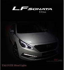 Передняя оптика Benz New E-Class Style - Hyundai LF Sonata (DK Motion), фото 2