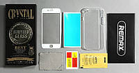 Red Mi 3 Xiaomi REMAX защитное стекло+чехол Crystal set glass+tpu case, фото 1