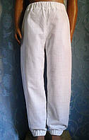 Літні дитячі льняні штанці, фото 1