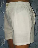 Детские льняные шорты