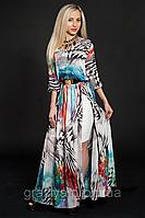 Модные нарядные стильные длинные платья