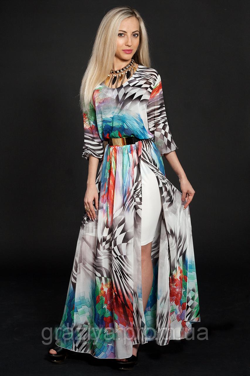aede1940d42 Модные нарядные стильные длинные платья - оптово - розничный интернет -  магазин