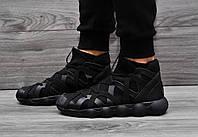 Мужские кроссовки Adidas Y-3 Kyujo High 2 цвета (Реплика AAA+) черный