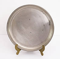 Антикварный оловянный поднос, тарелка, Германия, олово, Zinn