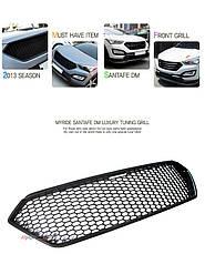 Решетка радиатора - Hyundai Santa Fe DM / ix45 (MYRIDE), фото 2