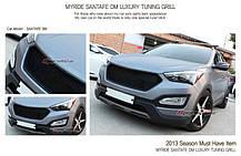 Решетка радиатора - Hyundai Santa Fe DM / ix45 (MYRIDE), фото 3