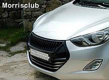 Решетка радиатора - Hyundai Avante MD / Elantra MD (MORRIS CLUB), фото 2