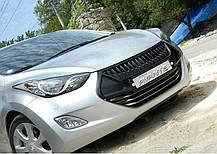 Решетка радиатора - Hyundai Avante MD / Elantra MD (MORRIS CLUB), фото 3