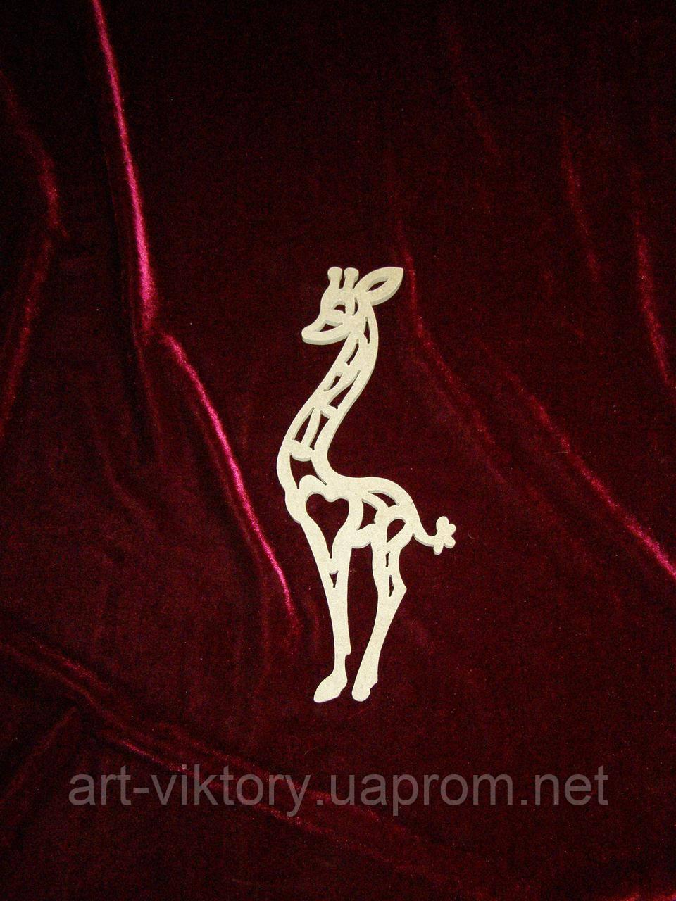 Жираф (10 х 25 см), декор