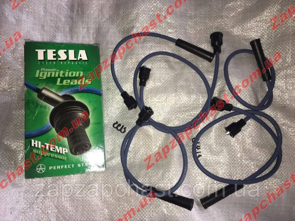 Провода свечные москвич 2141 Тесла зеленые TS T136H