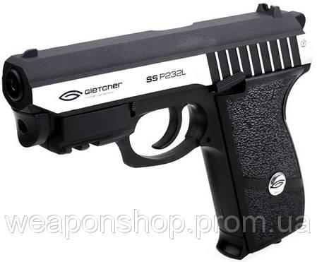 Пистолет Gletcher SS P232L Blowback, фото 1