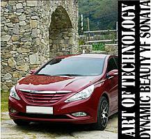 Решетка радиатора Luxury - Hyundai YF Sonata / i45 (MORRIS), фото 3