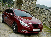 Решетка радиатора Luxury - Hyundai YF Sonata / i45 (MORRIS), фото 2