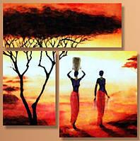 "Модульная картина ""Африка 2""  (940х1400 мм) [3 модуля]"