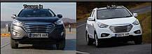Решетка радиатора T-Grill (хромированная) - Hyundai Tucson iX  (TOMATO), фото 2
