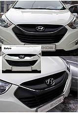 Стикер на решетку радиатора - Hyundai Tucson iX / ix35 (EXOS), фото 3