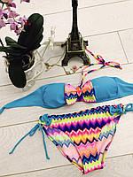 Радужный купальник для девочек: Размары от 8-16 лет 16
