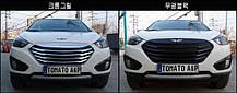 Решетка радиатора T-Grill (матовая черная) - Hyundai Tucson iX  (TOMATO), фото 3