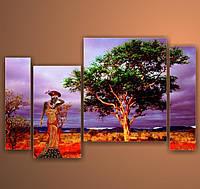 "Модульная картина ""Африка 5""  (810х1300 мм) [4 модуля]"