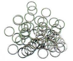 Кольцо металлическое 12 мм никель