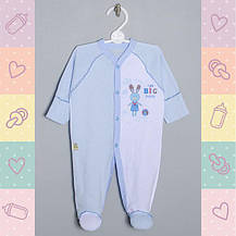 Человечки для новорожденных 62рост. Хлопок-Ажур,1415тро. В наличии 56_62_ Рост, фото 2