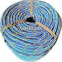 Шнур полипропиленовый фал плетеный Ø10 (100метров) с сердечником