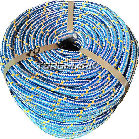 Шнур полипропиленовый фал плетеный 10 мм 100 м для глубинного насоса, фото 2