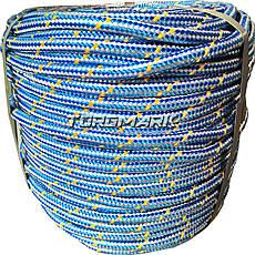 Шнур полипропиленовый фал плетеный 10 мм 100 м для глубинного насоса, фото 3