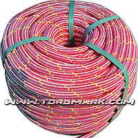Шнур полипропиленовый фал плетеный Ø12(100метров) с сердечником