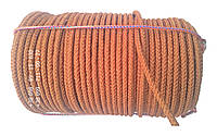 Веревка капроновая  ø 10 мм х 100 метров в мотке (шнур плетеный кордовый)