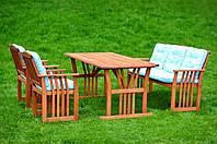 Комплект мебели из дерева Аквамарин
