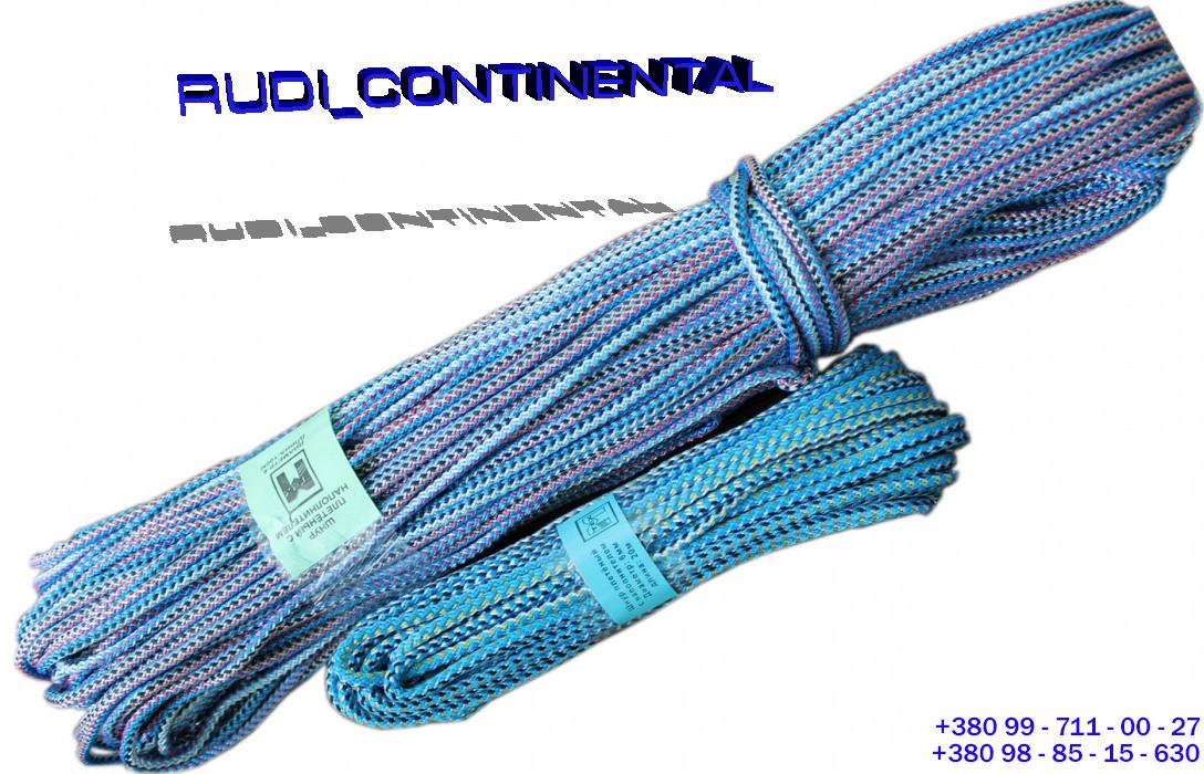 Шнур бельевой d 7 мм х 100 метров полипропиленовый