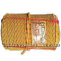 Веревка капроновая (Фал) 8 мм полипропиленовый - цветной -  100 м - Украина