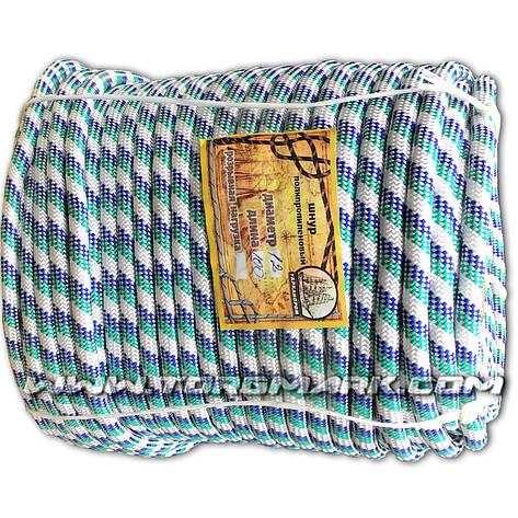 Морской плетеный шнур 12 мм 100 м нагрузка 600кг, фото 2