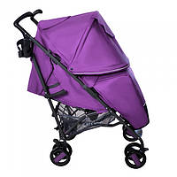 Прогулочная коляска трость CARRELLO Costa CRL-1409 Striking Purple