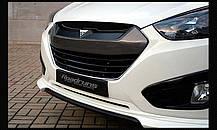 Накладка на решетку радиатора - Hyundai Tucson ix / ix35 (ROADRUNS), фото 2