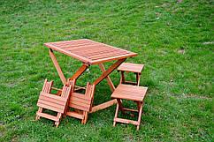 Комплект мебели из дерева Нора