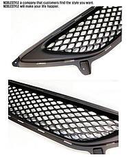 Решетка радиатора + нижняя решетка - Hyundai Avante MD / Elantra MD (NOBLE STYLE), фото 3