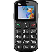"Мобильный телефон FLY Ezzy 7 Black ""бабушкофон"""