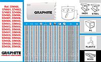Коронка сверлильная биметаллическая, GRAPHITE 57H900 - 57H912 - 57H920 - 57H928 - 57H930 - 57H936