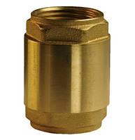 Обратный клапан Afriso латунный с нейлоновым штоком, 110 ºС