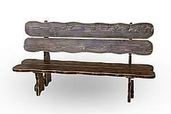 Скамейка из дерева Блюз