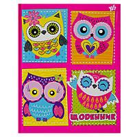 Дневник школьный Owl украинский язык 1Вересня